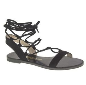 Used Chinese Laundry Lace Up Gladiator Sandals